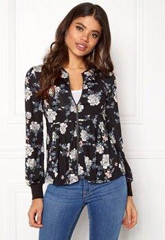 Happy Holly Fannie jacket Black / Patterned Bubbleroom.no