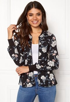 Happy Holly Fannie jacket Black / Patterned Bubbleroom.no