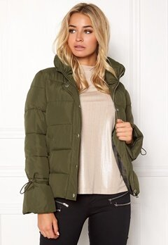 Happy Holly Fanny jacket Khaki green Bubbleroom.no