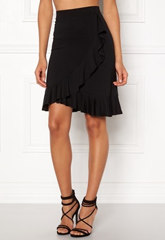 Happy Holly Farah skirt Black Bubbleroom.no