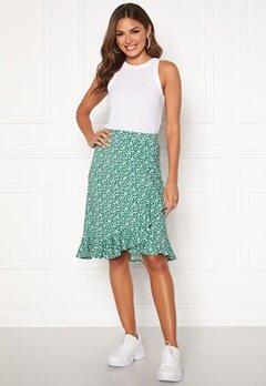 Happy Holly Farah skirt Green / Patterned Bubbleroom.no