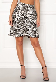 Happy Holly Farah skirt Leopard Bubbleroom.no