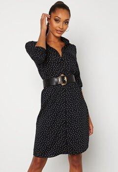 Happy Holly Felicity dress Black / Offwhite Bubbleroom.no