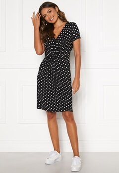 Happy Holly Fiona dress Black / Dotted Bubbleroom.no