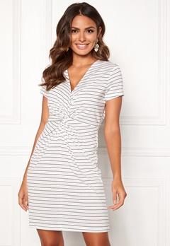 Happy Holly Fiona dress White / Striped Bubbleroom.no