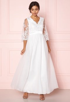 Happy Holly Francesca wedding dress White Bubbleroom.no