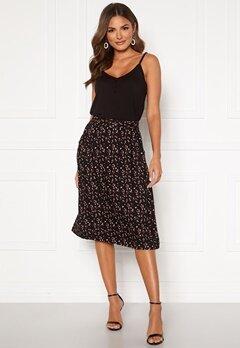 Happy Holly Fredrika skirt Black / Patterned Bubbleroom.no