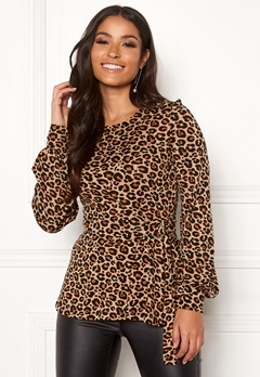 Happy Holly Gianna top Leopard / Patterned Bubbleroom.no