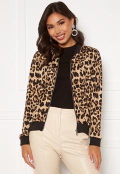 Happy Holly Hanna bomber jacket Leopard Bubbleroom.no