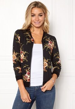 Happy Holly Hanna bomber jacket Black / Patterned Bubbleroom.no