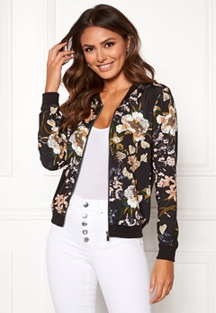 Happy Holly Hanna jacket Black / Patterned Bubbleroom.no