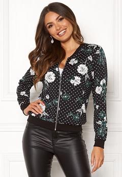 Happy Holly Hanna jacket Black / Patterned Bubbleroom.no