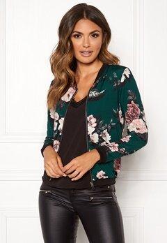 Happy Holly Hanna jacket Dark green / Patterned Bubbleroom.no
