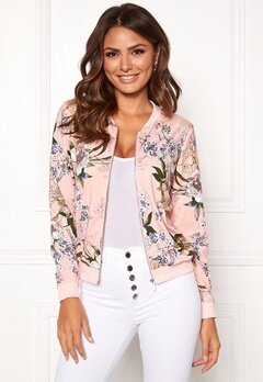Happy Holly Hanna jacket Dusty pink / Patterned Bubbleroom.no