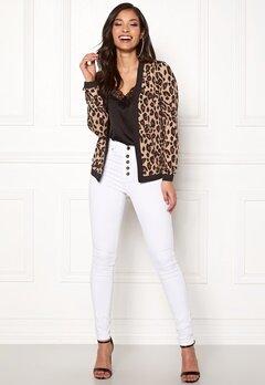 Happy Holly Hannele jacket Leopard Bubbleroom.no