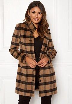 Happy Holly Harper coat Checked Bubbleroom.no