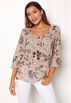 Happy Holly Heather blouse Pink / Patterned Bubbleroom.no