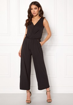 Happy Holly Iman jumpsuit Black Bubbleroom.no