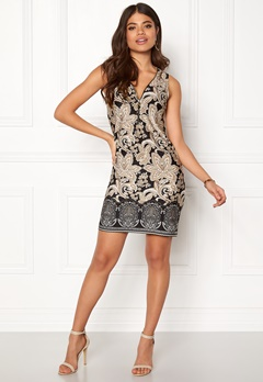 Happy Holly Isabella dress Black / Patterned Bubbleroom.no