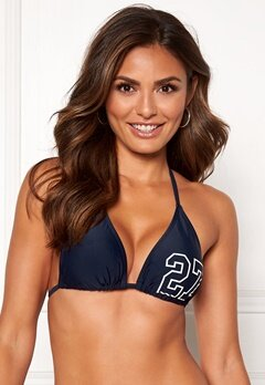 Happy Holly Jade bikini bra Navy Bubbleroom.no