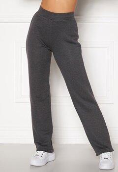 Happy Holly Jade soft pants Dark grey melange bubbleroom.no