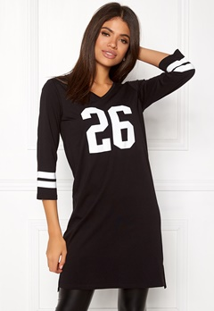 Happy Holly Janna tunic Black Bubbleroom.no