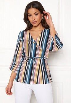 Happy Holly Jasmine blouse Striped Bubbleroom.no