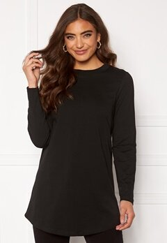 Happy Holly Jassy tunic Black Bubbleroom.no