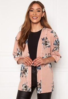 Happy Holly Jelena kimono blouse Pink / Patterned Bubbleroom.no
