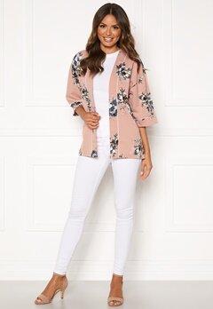 Happy Holly Jelena kimono blouse Pink / Patterned Bubbleroom.no