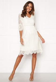 Happy Holly Jenna lace dress White Bubbleroom.no