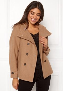 Happy Holly Josey jacket Camel Bubbleroom.no