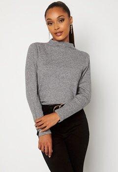 Happy Holly Josey sweater Grey melange bubbleroom.no