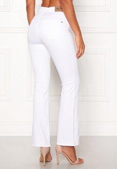 Happy Holly Josie bootcut jeans White Bubbleroom.no