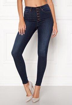 Happy Holly Josie jeans Dark denim Bubbleroom.no