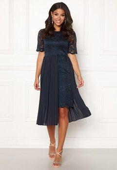 Happy Holly Kajsa occasion dress Dark blue Bubbleroom.no