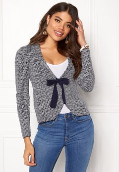 Happy Holly Kara cardigan Navy / Offwhite Bubbleroom.no