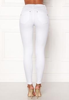 Happy Holly Karen jeans White Bubbleroom.no