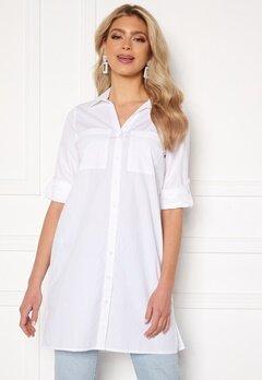 Happy Holly Katrina long shirt White Bubbleroom.no