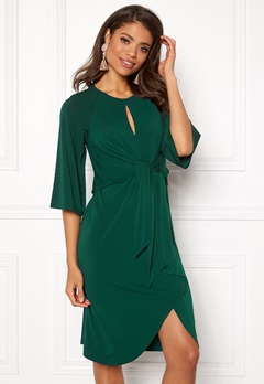Happy Holly Kim dress Dark green Bubbleroom.no