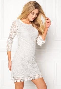 Happy Holly Lina lace dress Offwhite Bubbleroom.no