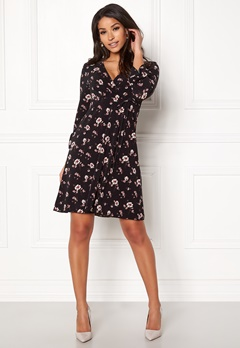 Happy Holly Laila dress Black / Patterned Bubbleroom.no