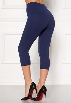 Happy Holly Beata Crop leggings Navy / Black Bubbleroom.no