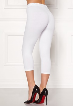 Happy Holly Beata Crop leggings Black / White Bubbleroom.no