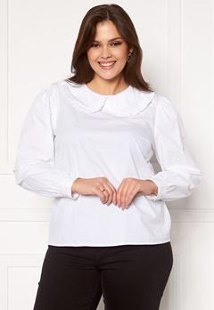 Happy Holly Leona blouse White Bubbleroom.no