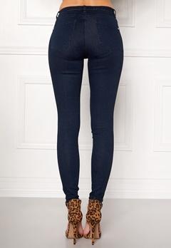 Happy Holly Limone jeans Dark denim Bubbleroom.no