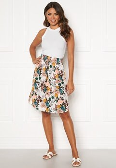 Happy Holly Lina beach skirt White / Floral Bubbleroom.no