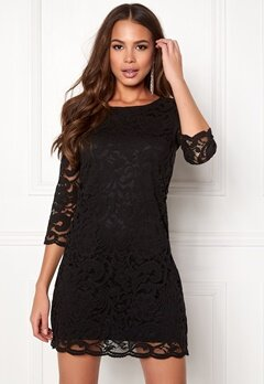 Happy Holly Lina lace dress Black Bubbleroom.no