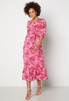 Happy Holly Linn maxi dress Pink Bubbleroom.no