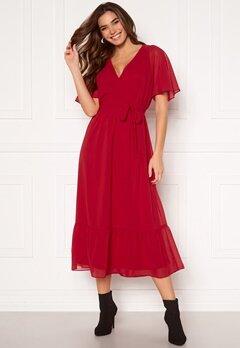 Happy Holly Linnea maxi dress Red Bubbleroom.no